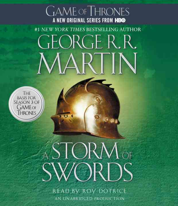 [CD] A Storm of Swords By Martin, George R. R./ Dotrice, Roy (NRT)